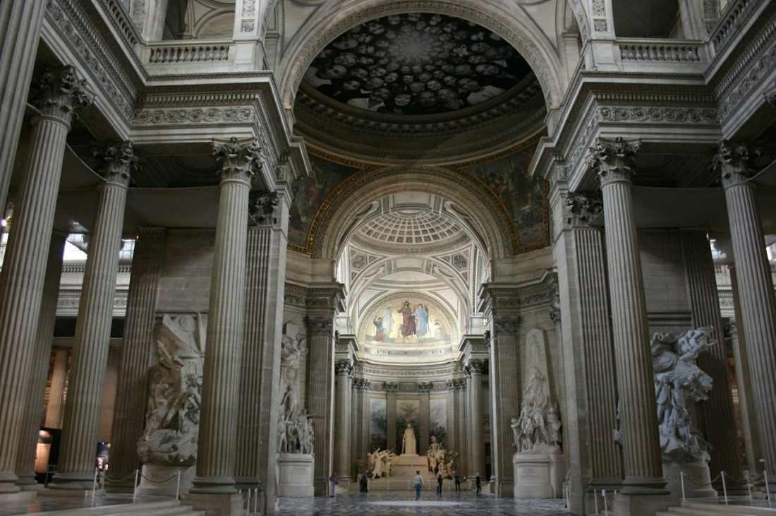 Pontos turísticos de Paris: o Panteão