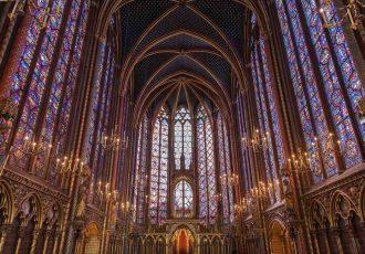 pontos turisticos de paris sainte chapelle