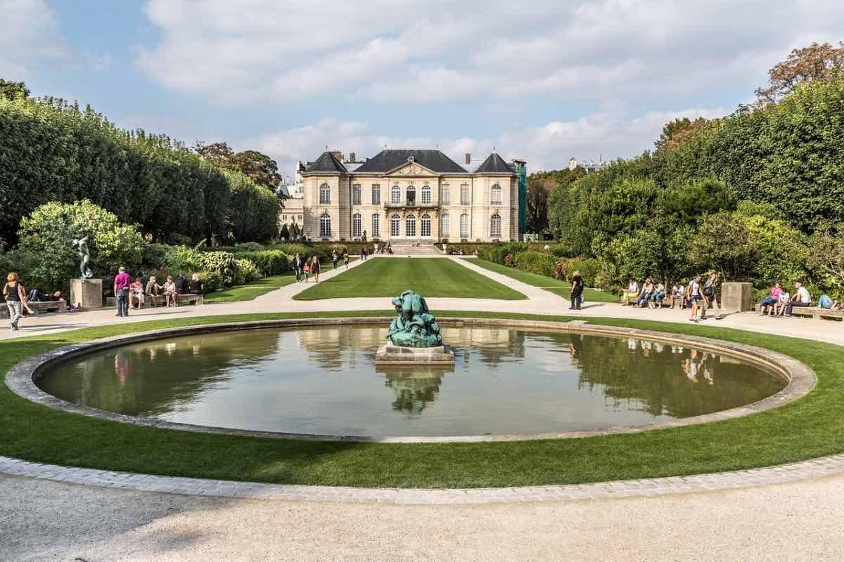 paris em abril museu rodin