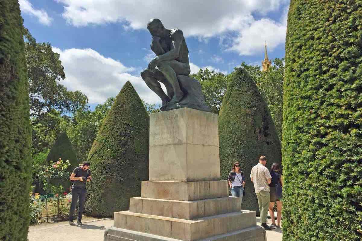o pensador museu rodin em paris